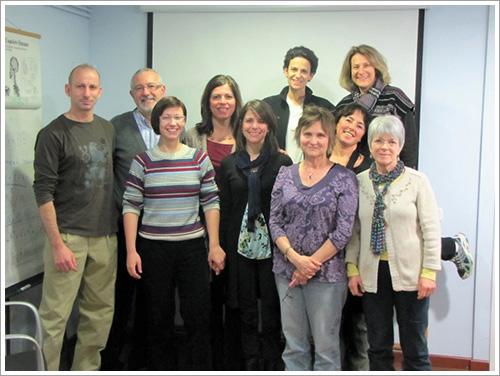 קורס מדריכים קליניים, ברצלונה ( 2011) BSPTS